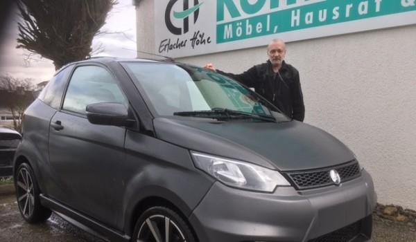 Für Paul Wolf (Name geändert) hat mit dem Fahrzeug ein neues Leben begonnen.