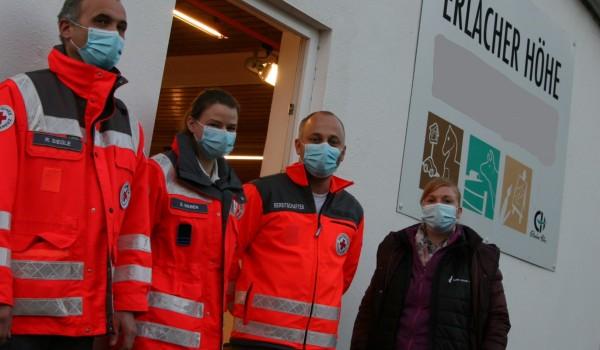 Durch die Mitarbeitenden des DRK konnten in der Reihentestung 179 Personen auf das Corona-Virus getestet werden.