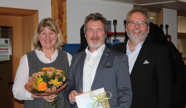 Elisabeth Koch-Messinger, Bernd Messinger und Wolfgang Sartorius (von links).