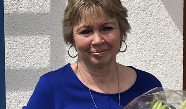 Seit 35 Jahren bei der Erlacher Höhe: Iris Schuchmann.
