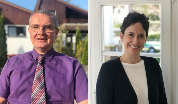 Die neuen Abteilungsleitenden der Erlacher Höhe: Klaus Engler und Nadin Himmelsbach.